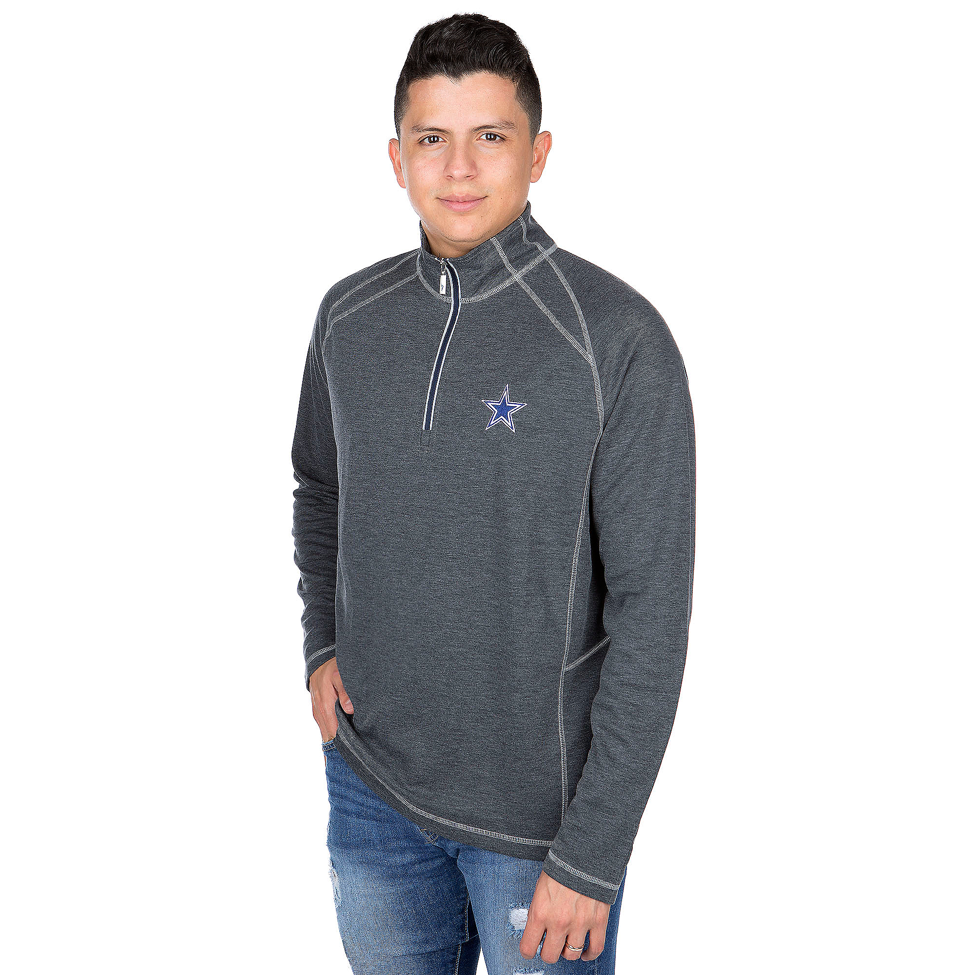 Dallas Cowboys Tommy Bahama Firewall Core Half-Zip Pullover