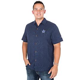 Dallas Cowboys Tommy Bahama Luau Floral Core Camp Tee