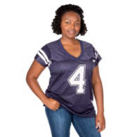 Dallas Cowboys Missy Dak Prescott Glitter Player Jersey