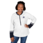 Dallas Cowboys Plus Size Button Henley Back Hit Tee