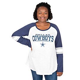 Dallas Cowboys Missy Raglan Slub Tee