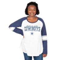 Dallas Cowboys Plus Size Raglan Slub Tee