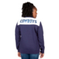 Dallas Cowboys Plus Size Quarter-Zip Fleece Sequin Hoody