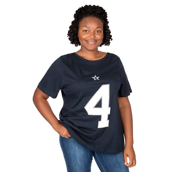 Dallas Cowboys Plus Size Dak Prescott Player T-Shirt