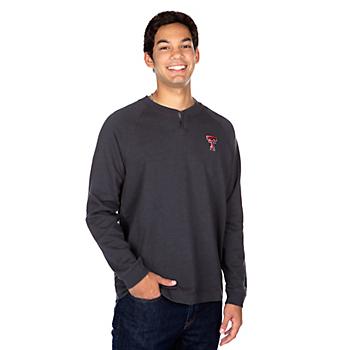 Texas Tech Red Raiders Tommy Bahama Sunset Slub Henley T-Shirt