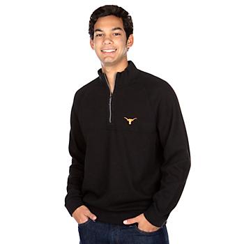 Texas Longhorns Tommy Bahama Fairway Flip Half-Zip Pullover