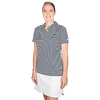 Dallas Cowboys Womens Nike Dry Golf Polo