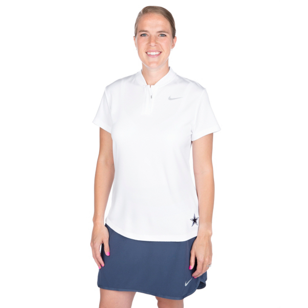 Dallas Cowboys Womens Nike Dry Blade Golf Polo