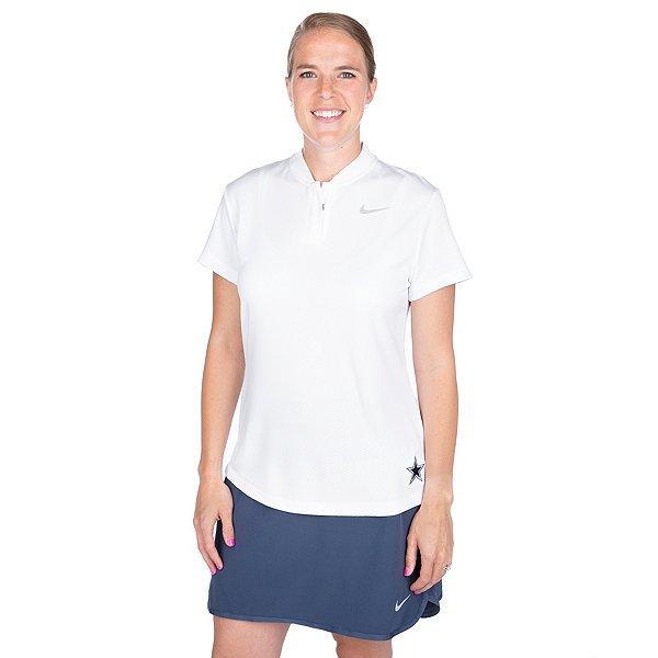 Dallas Cowboys Womens Nike Dry Blade Golf Polo