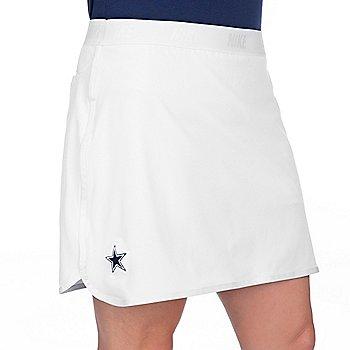 Dallas Cowboys Womens Nike Flex Silver Golf Skort
