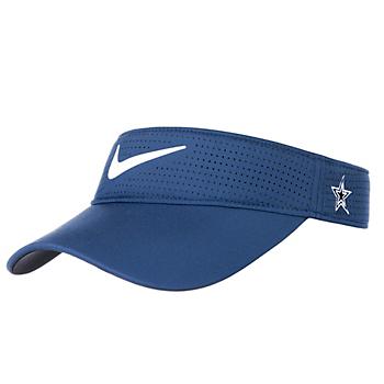 Dallas Cowboys Womens Nike AeroBill Golf Visor