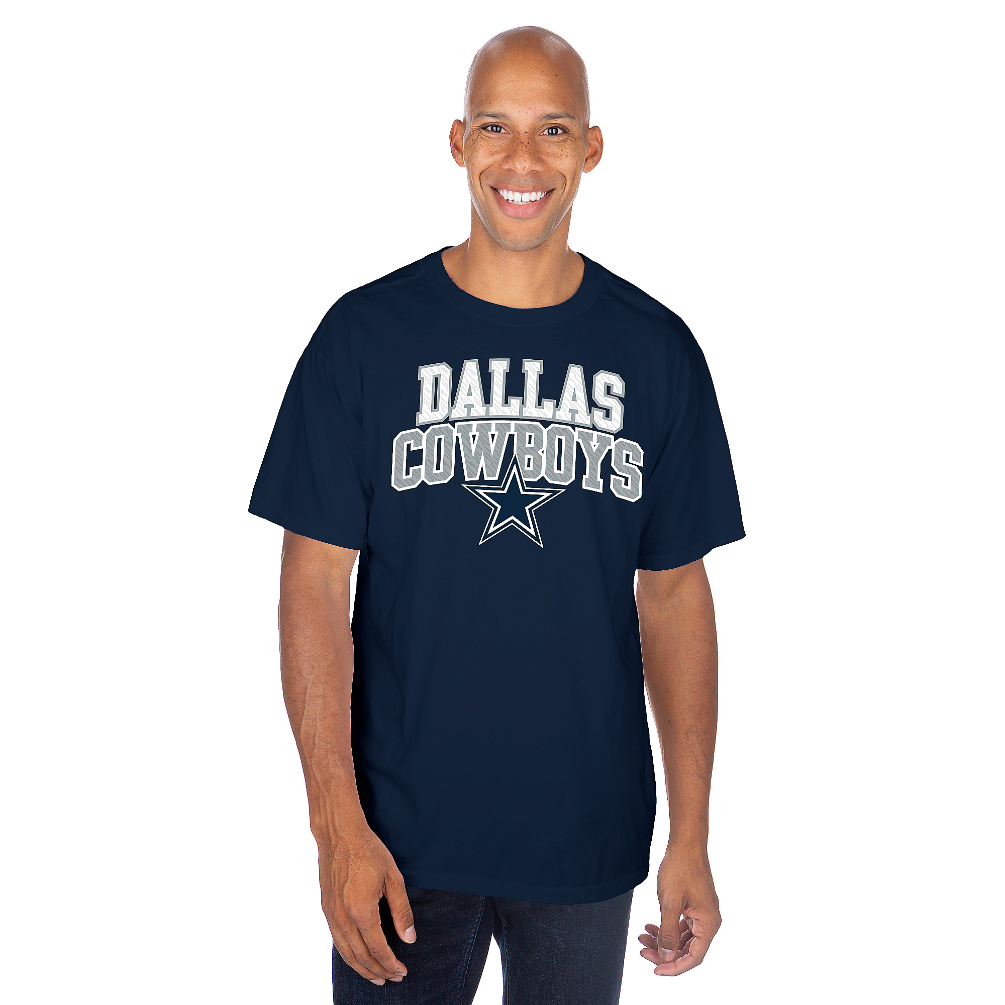 Dallas Cowboys Mens Knightly Short Sleeve T-Shirt