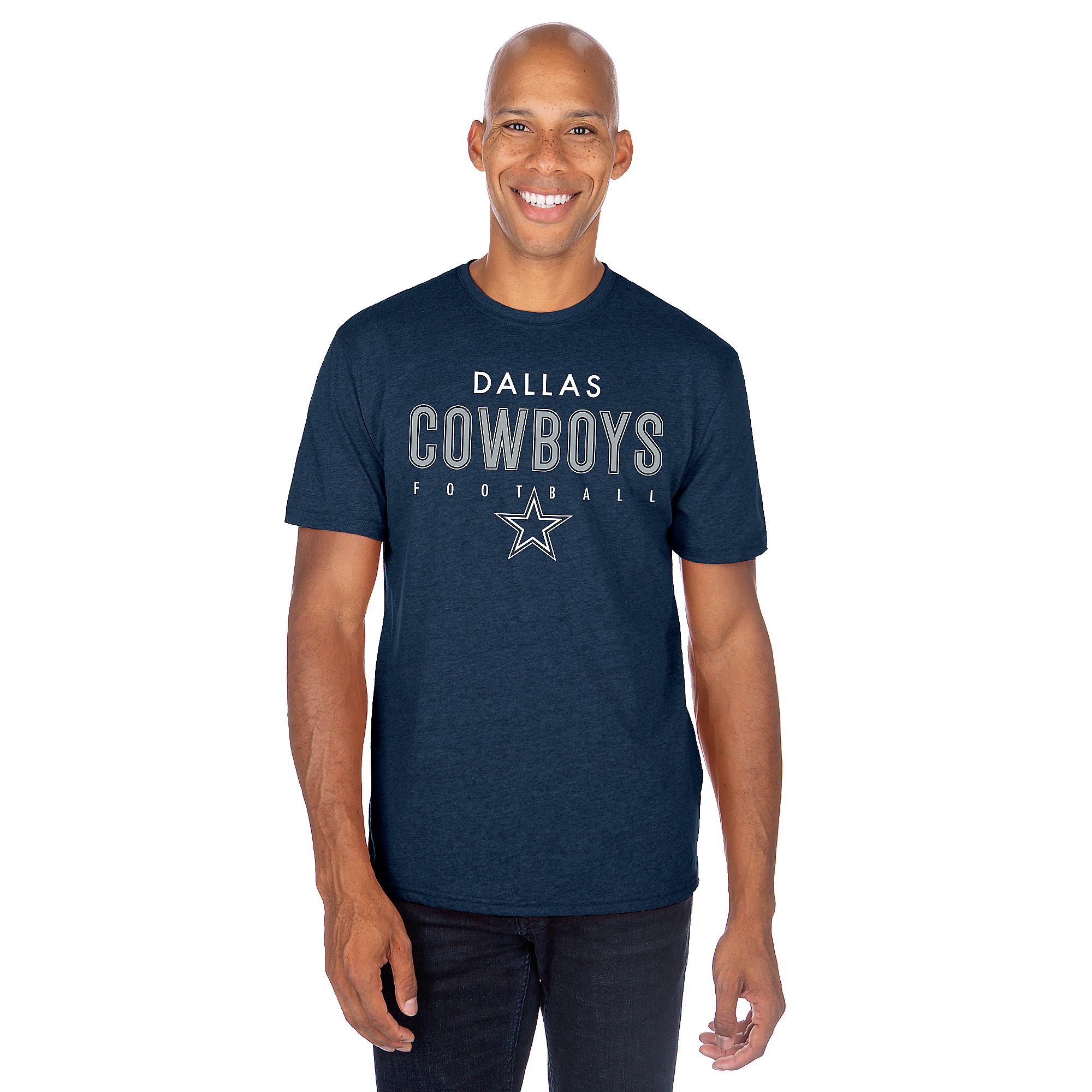 Dallas Cowboys Mens Valiant Short Sleeve T-Shirt