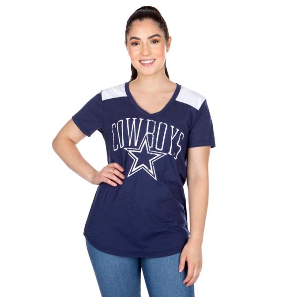 Dallas Cowboys Womens Corinna Short Sleeve T-Shirt