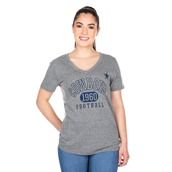 Dallas Cowboys Womens Mariah Short Sleeve T-Shirt