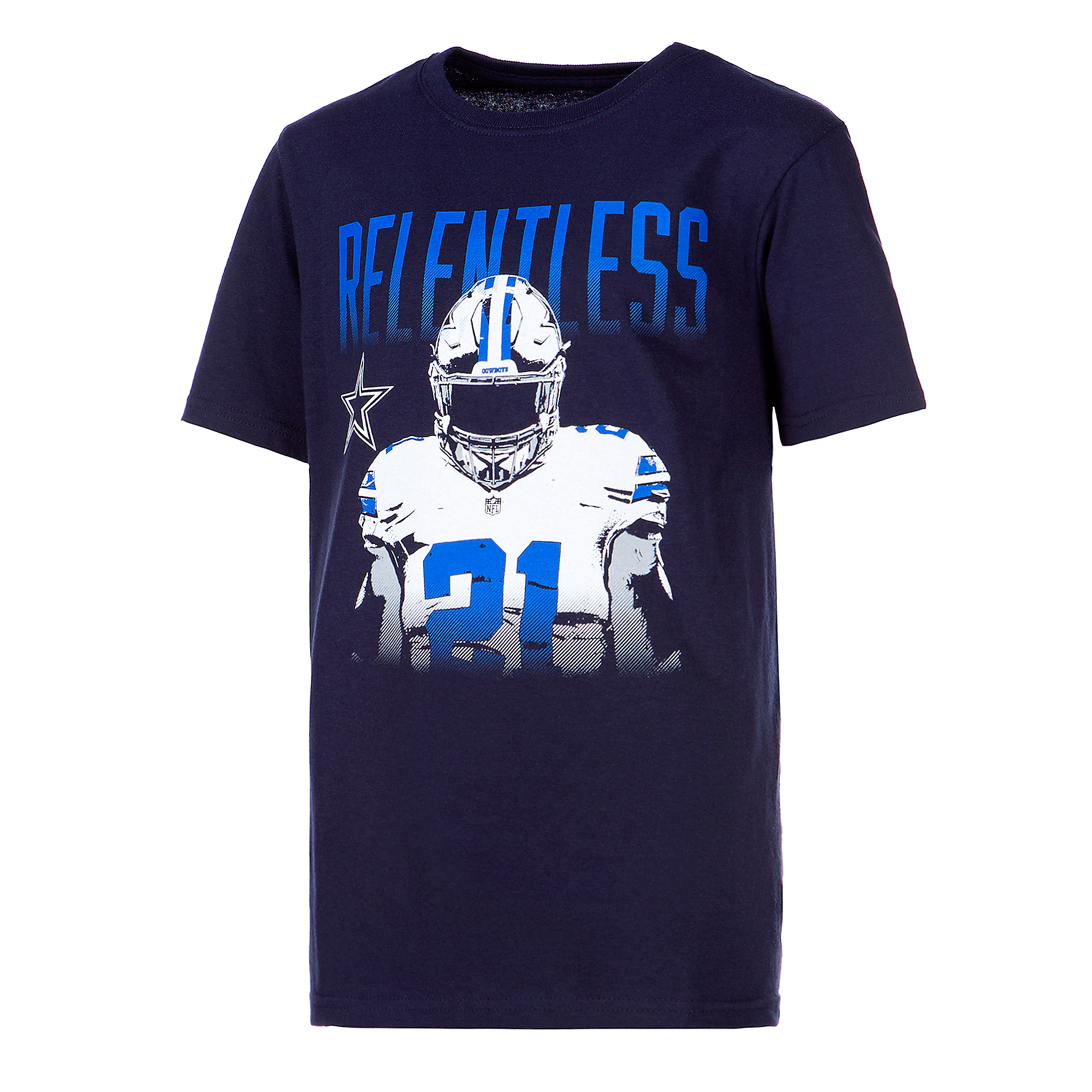 Dallas Cowboys Youth Ezekiel Elliott Melvin Short Sleeve T-Shirt