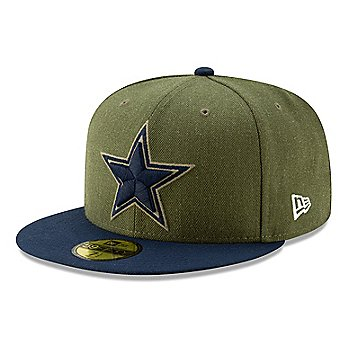 Dallas Cowboys New Era Salute to Service Mens 59Fifty Hat