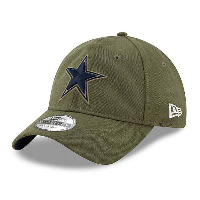 Dallas Cowboys New Era Salute to Service 9Twenty Cap