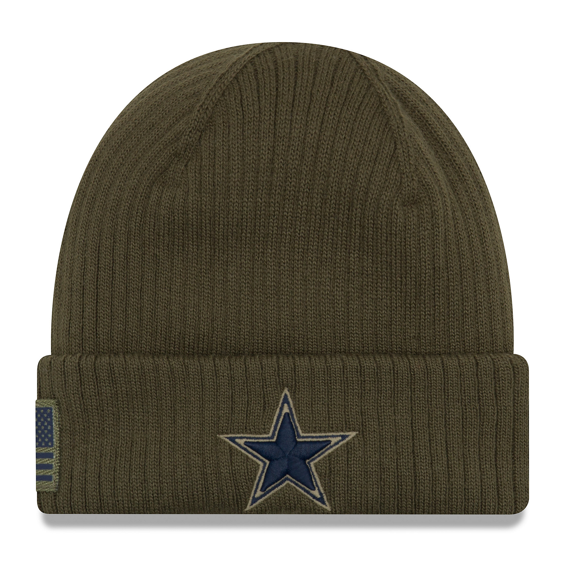 420d34c0f56 Dallas Cowboys New Era Salute to Service Knit Hat