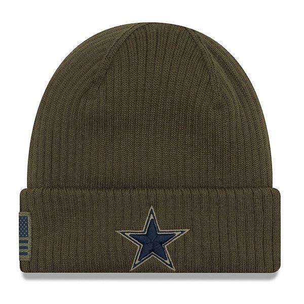Dallas Cowboys New Era Salute to Service Knit Hat