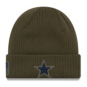 Dallas Cowboys New Era Salute to Service Knit Hat