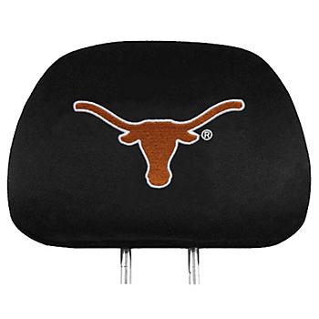 Texas Longhorns Headrest Cover Set