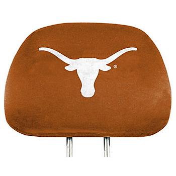 Texas Longhorns Printed Headrest Set