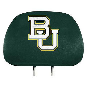 Baylor Bears Printed Headrest Cover Set