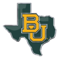 Baylor Bears State Car Emblem