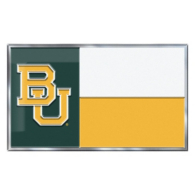 Baylor Bears State Flag Car Emblem