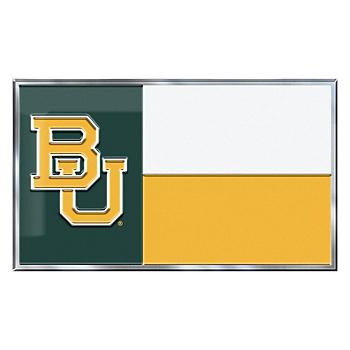 Baylor Bears State Flag Car Emblem