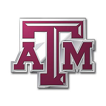 Texas A&M Aggies Color Auto Emblem