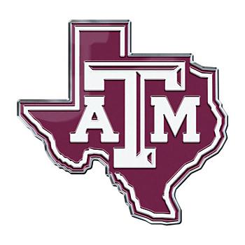 Texas A&M Aggies Alternate Color Auto Emblem