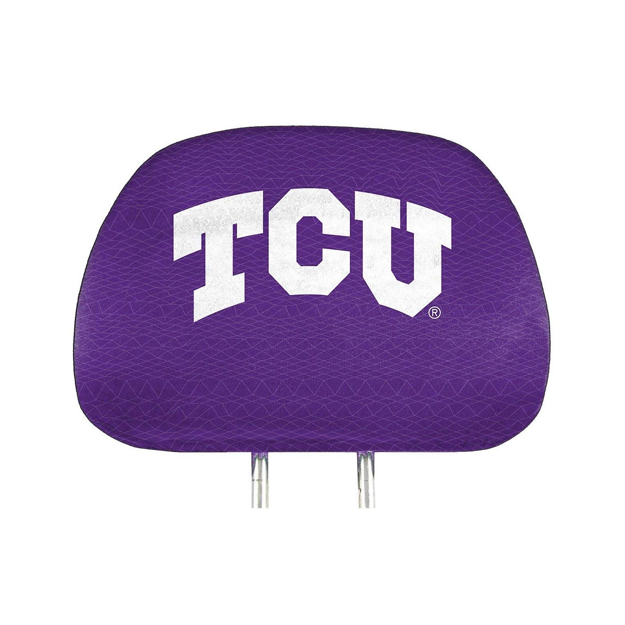 TCU Horned Frogs Printed Headrest Set