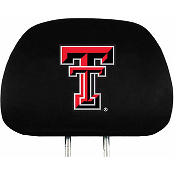 Texas Tech Red Raiders Headrest Cover Set