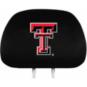 Texas Tech Red Raiders Headrest Cover Set