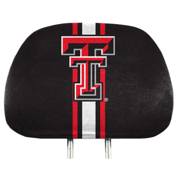 Texas Tech Red Raiders Printed Headrest Cover Set