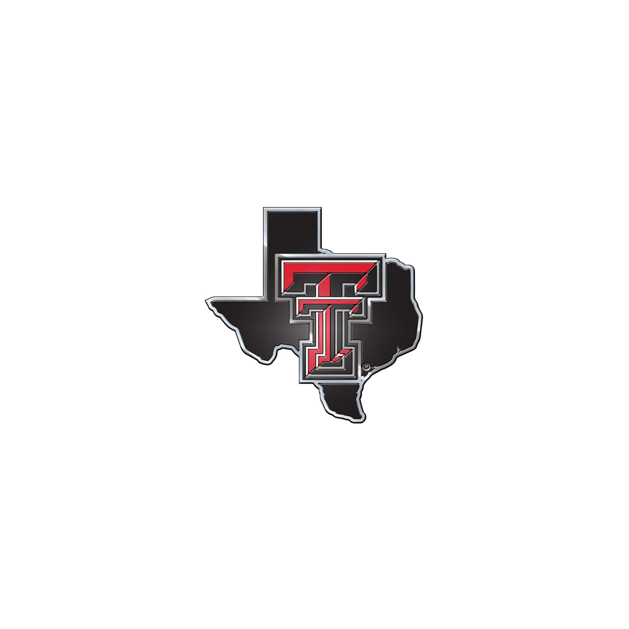 Texas Tech Red Raiders State Car Emblem