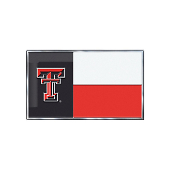 Texas Tech Red Raiders State Flag Emblem