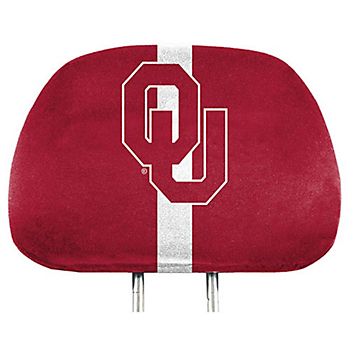 Oklahoma Sooners Printed Headrest Cover Set