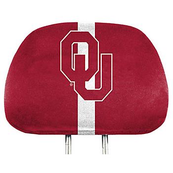 Oklahoma Sooners Printed Headrest Cover Set