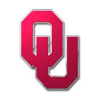 Oklahoma Sooners Color Auto Emblem