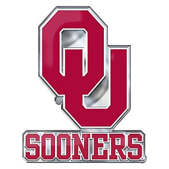 Oklahoma Sooners Alternate Color Auto Emblem