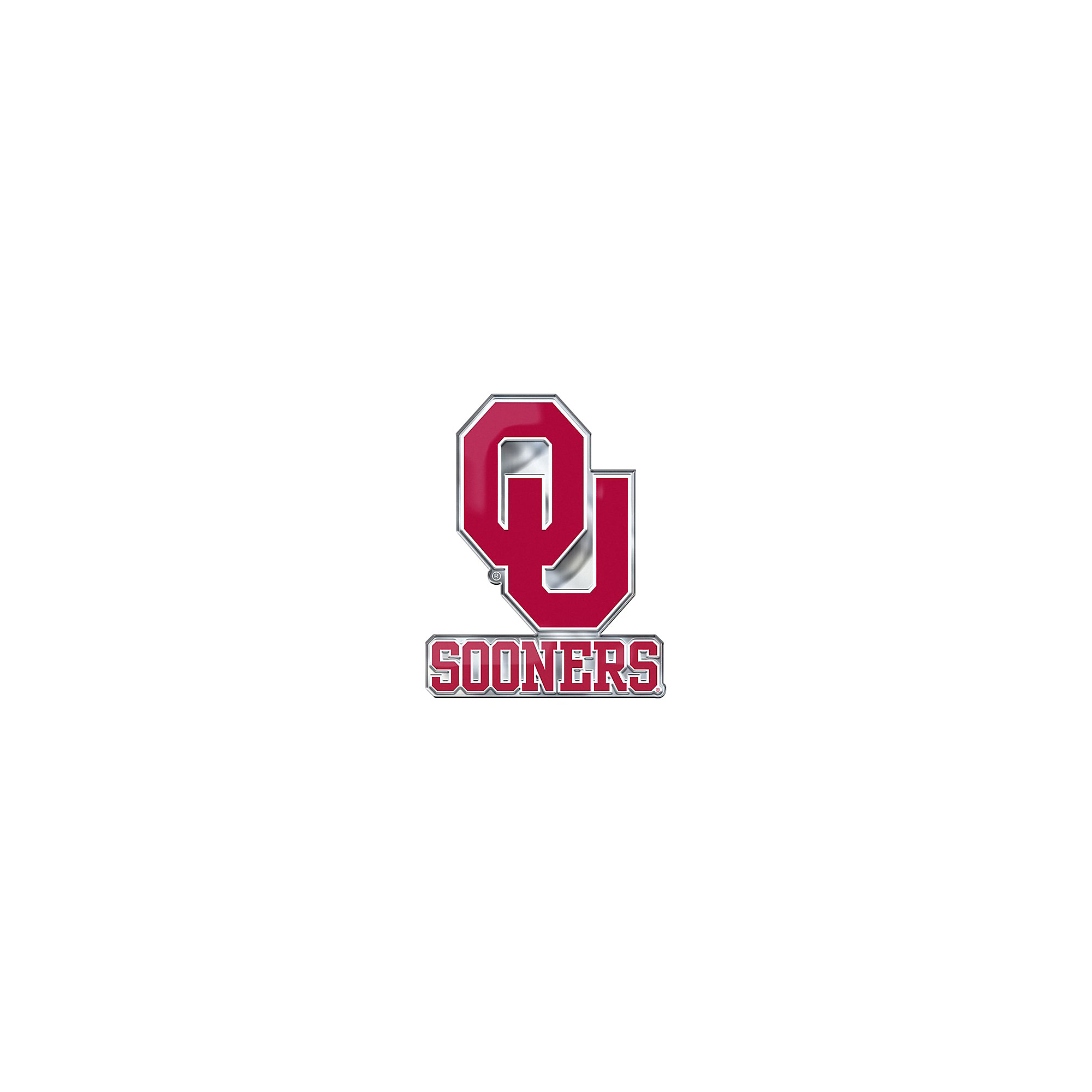 Oklahoma Sooners Alternate Color Auto Emblem