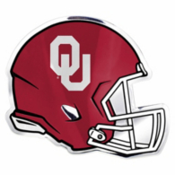 Oklahoma Sooners Helmet Auto Emblem