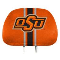 Oklahoma State Cowboys Printed Headrest Cover Set