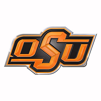 Oklahoma State Cowboys Color Auto Emblem