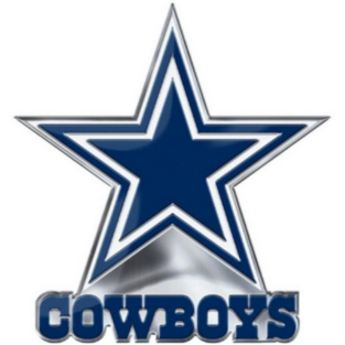 Dallas Cowboys Alternate Color Emblem