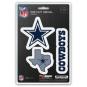 Dallas Cowboys 3-Pack Team Decal