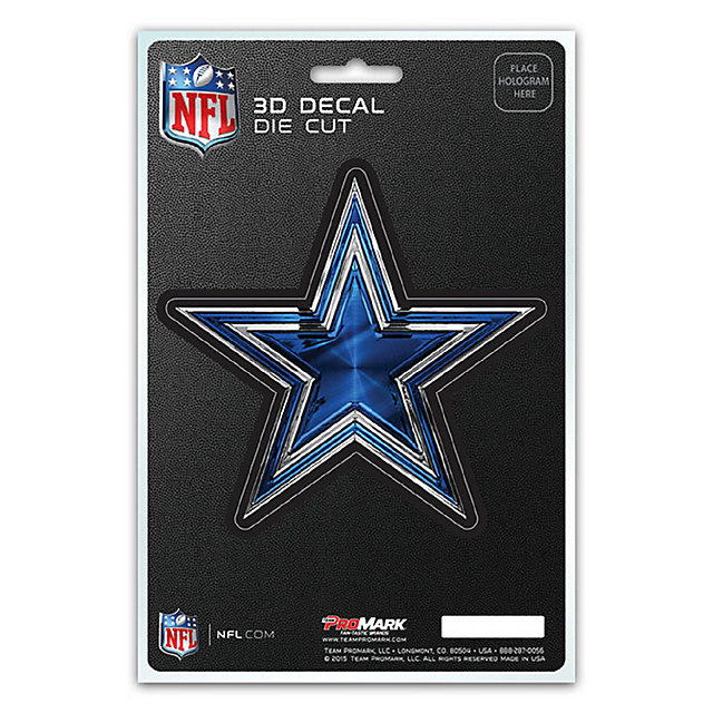 Dallas Cowboys 3D Decal